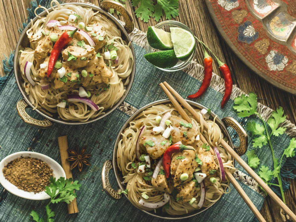 Coconut and Chicken Burmese Curry