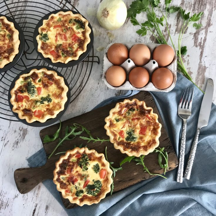 Super Easy and Delicious Vegetable Quiche