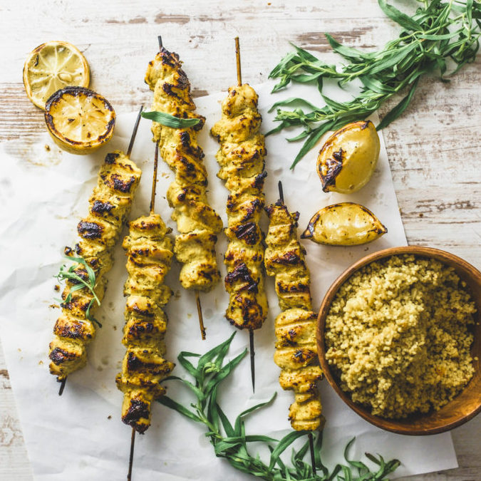 Zesty Yogurt Mali Kebab