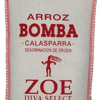 Bomba Rice 17.5 OZ. bag,  Perfect Rice for Paella, Grown in Spain