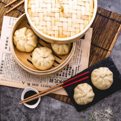 Better Than Takeout Chinese Steamed Pork Baozi